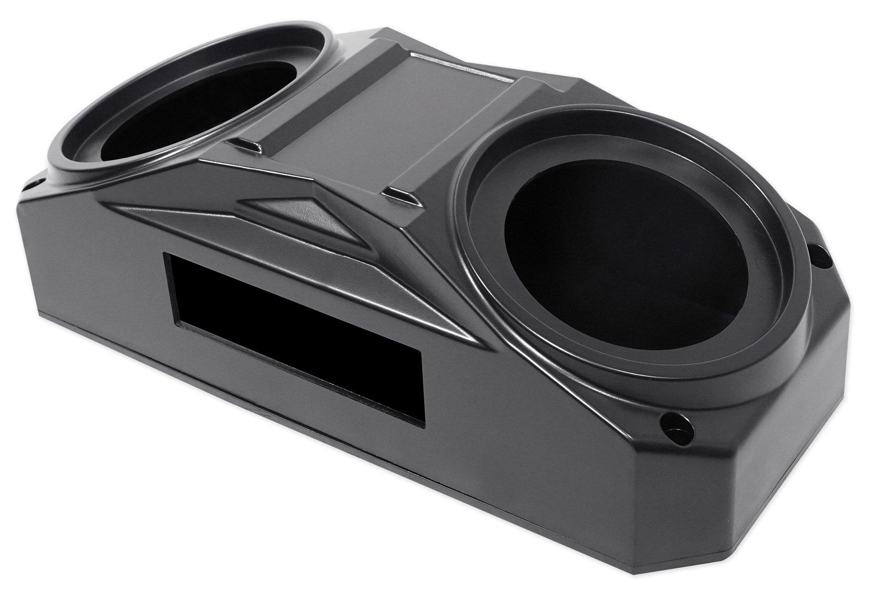 Metra OH-DIN01 6.5'' Overhead Speaker+Receiver Enclosure Polaris RZR/ATV/UTV/Cart by Metra (Image #2)