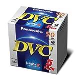 Panasonic AY-DVM60FE5 Mini-DVC (60min, Linear Plus) 5er Pack