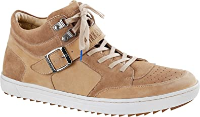 big sale a2de8 059a7 BIRKENSTOCK Herren Ranga Veloursleder Sneaker Sawtooth ...