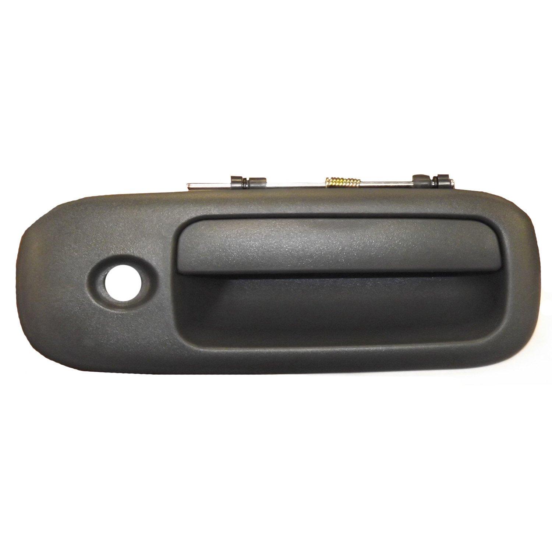 Needa Parts 802812 GM Front//Rear Right Black Exterior Door Handle with Key Hole