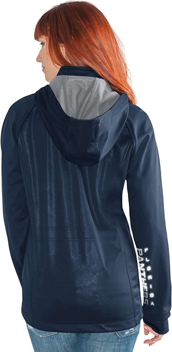 schwarz GIII For Her Schnitt R/ückseite Soft Shell Jacke Damen Small Cut Back Soft Shell Jacket