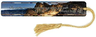 product image for Personalized Stephen King Quote, Yosemite National Park - Color Photograph Taken by Mike DeCesare Wooden Bookmark with Tassel - Search B01G44L44Q for Non-Personalized Version