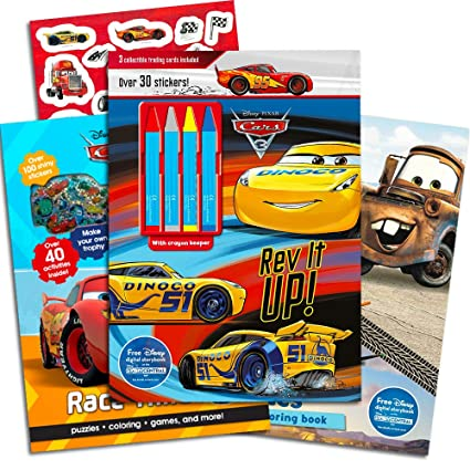 Amazon.com: Disney Cars Coloring Book Super Set Kids ...