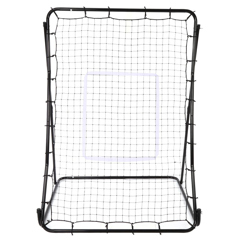 Oguine Multi-sport Baseball Softball Lacrosse Rebounder Pitchback Screen Return Trainer Net,44'' x 64'' Adjustablel Practice Screen by Oguine (Image #4)