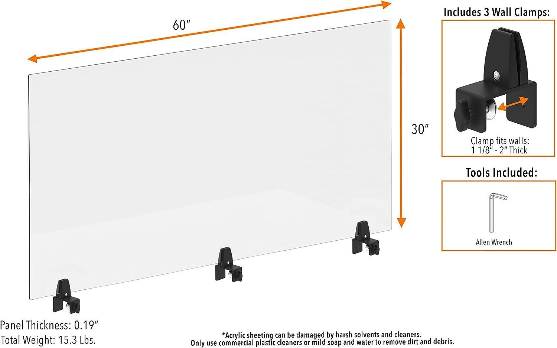 """60"""" x 30"""" panel"""