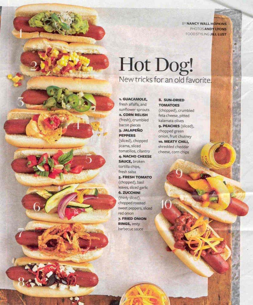 El Museo de salida de gráficos de - Hotdog Toppings - A3 ...
