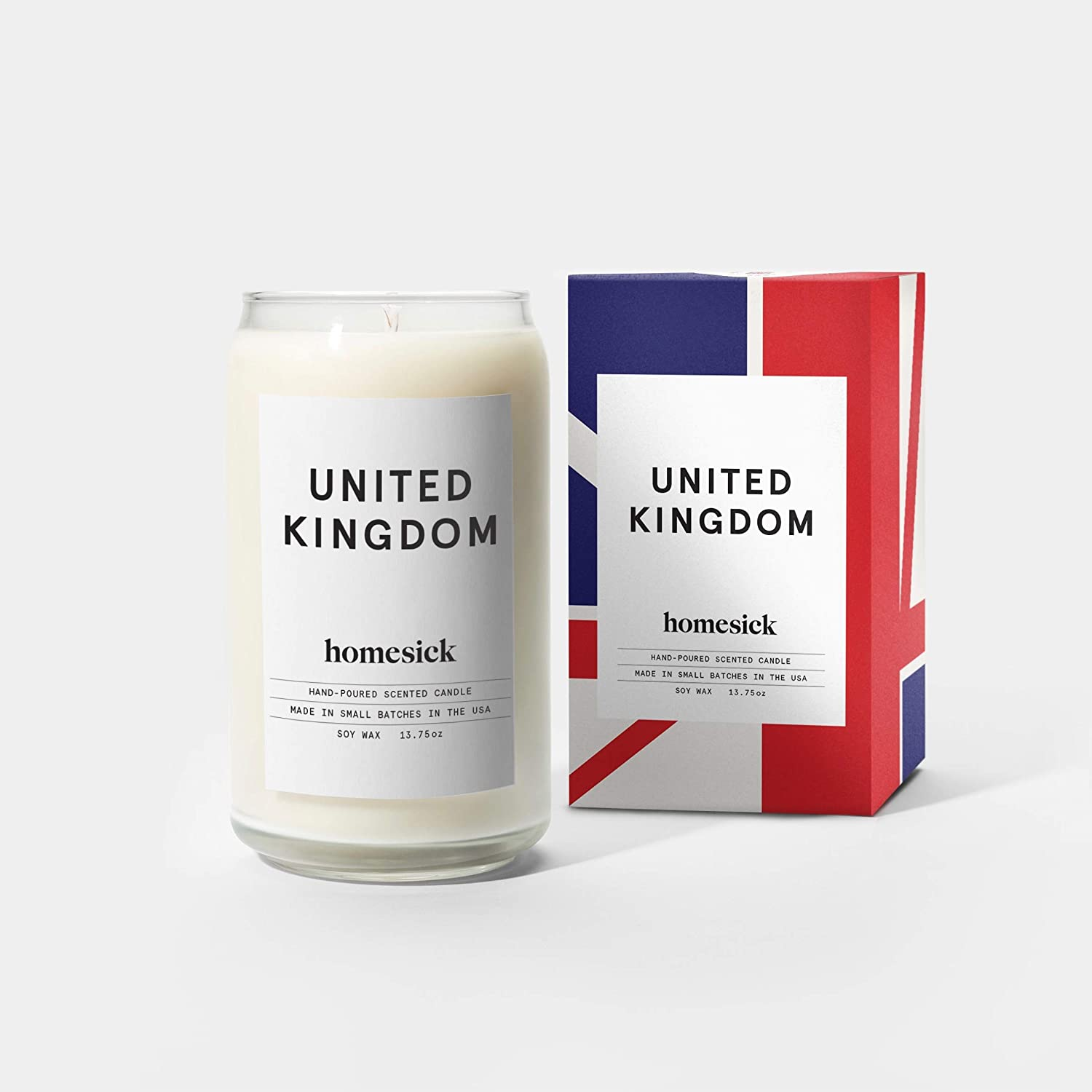 Homesick Scented Candle, United Kingdom