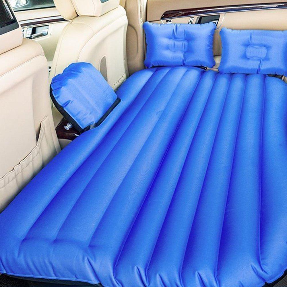 ZXQZ Auto Aufblasbares Bett General Motors Faltbare Rear Seat Luftbett Erwachsene Outdoor-stoßfest Reisebett Aufblasbares Bett (Farbe : Blau, größe : 2 )