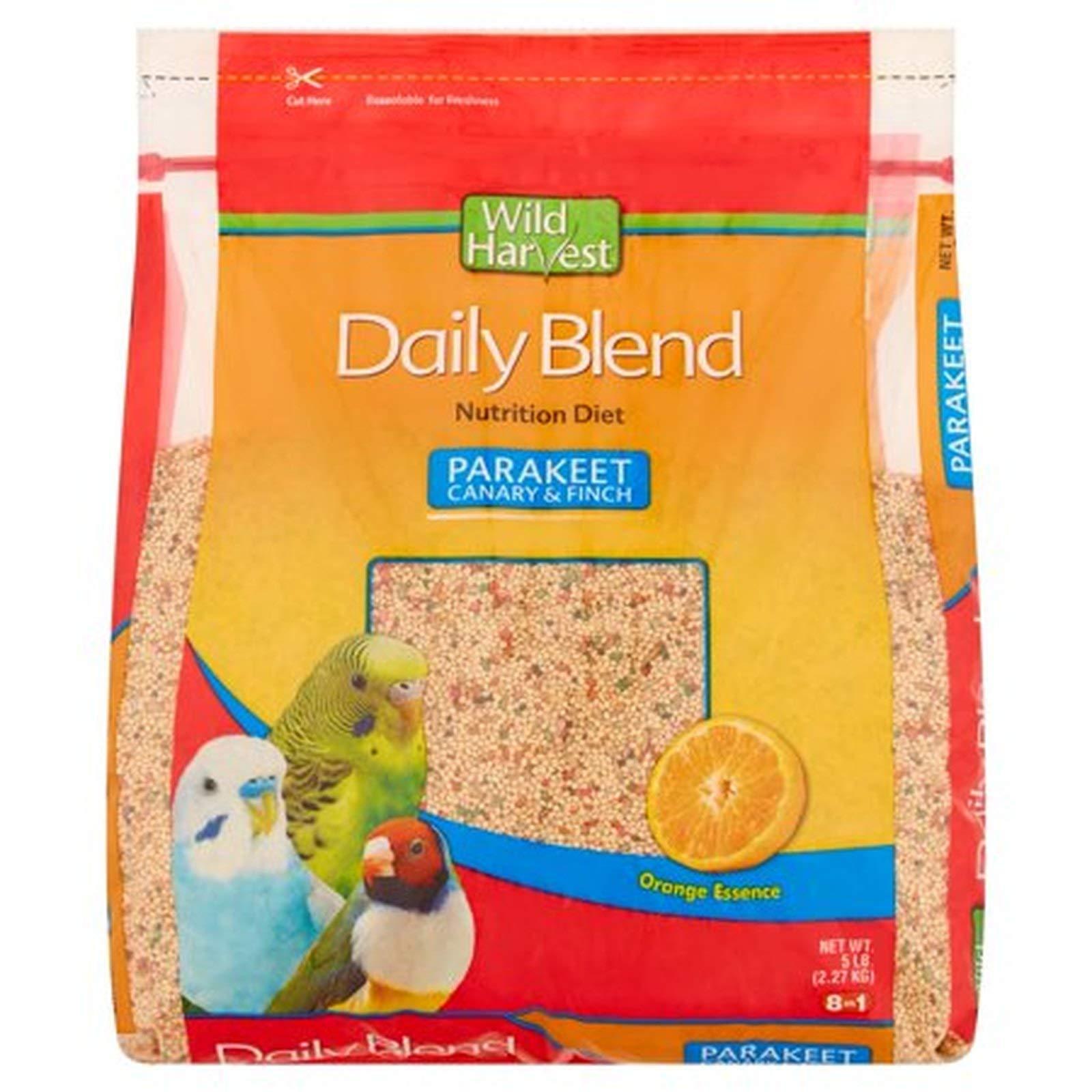 Wild Harvest P-A1907 Wh Daily Blend Parakeet 5# Bag