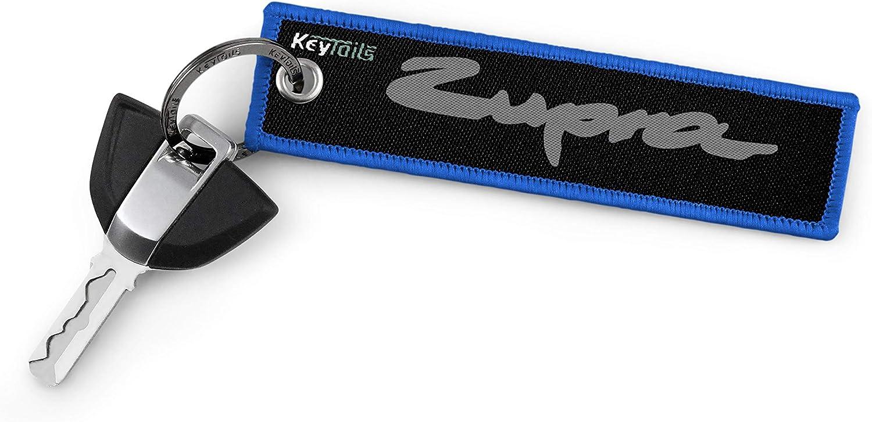 Premium Quality Key Tag Zupra Keychain fits Toyota Supra BMW Z4 KEYTAILS Keychains
