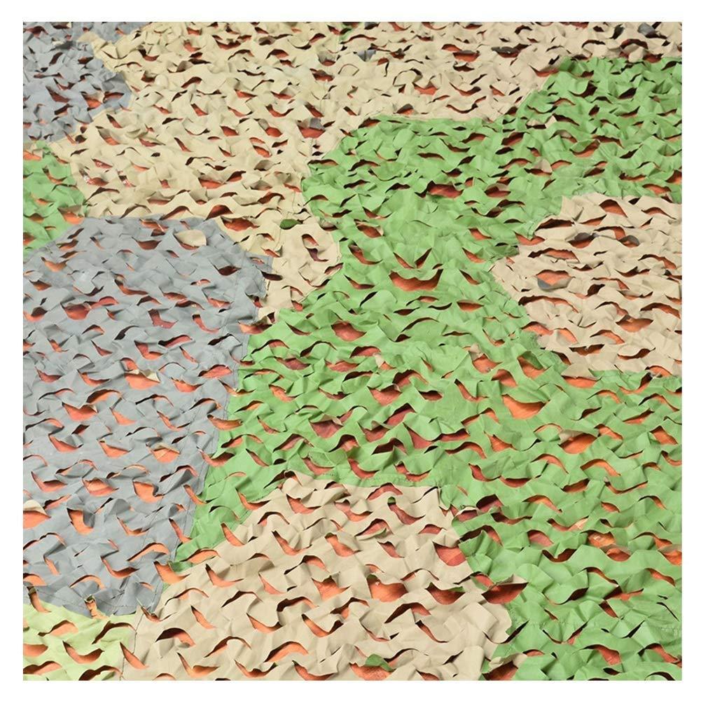 迷彩ネット迷彩ネット3色ステッチジャングルカバーネット釣りシェルターキャンプ隠す、カスタマイズ可能なサイズ (色 : A, サイズ さいず : 12x12m) B07RJNCC69 A 3x6m 3x6m|A