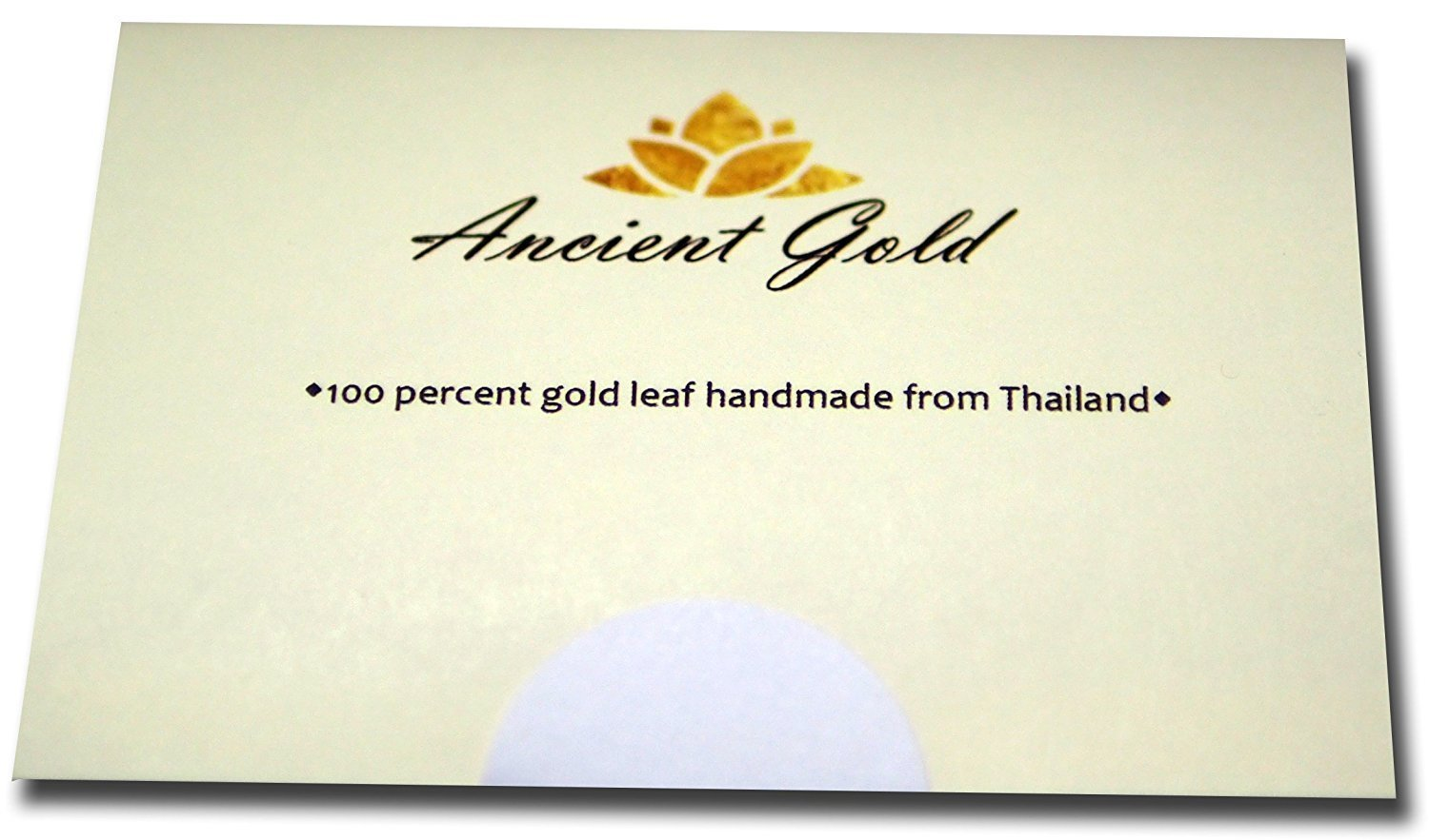Gold Leaf Sheets 30 pcs. Size 1.5''X1.5''