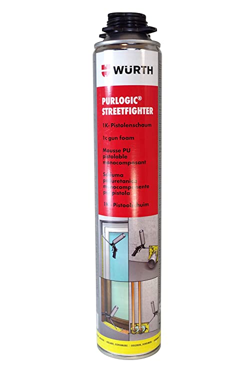 Würth espuma PU expansiva pistolable monocomposant PURlogic Streetfighter