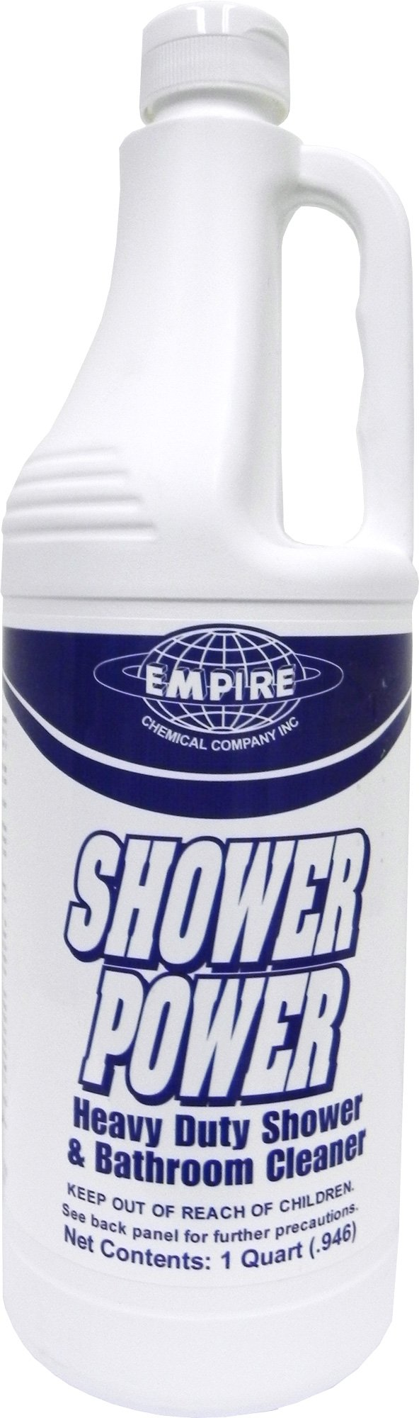 Shower Power - Powerful Bathroom Cleaner From Concentrate - Tub and Shower Cleaner - Cleans Tubs, Toilets, Urinals, Fixtures & More-1 Qt.
