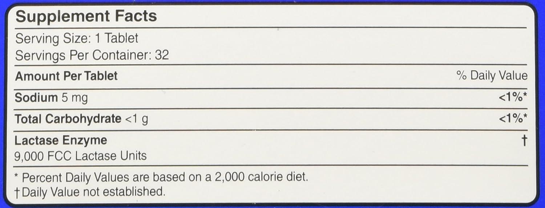 Amazon.com: Equate – lácteos Suplemento Digestivo, 32 ...