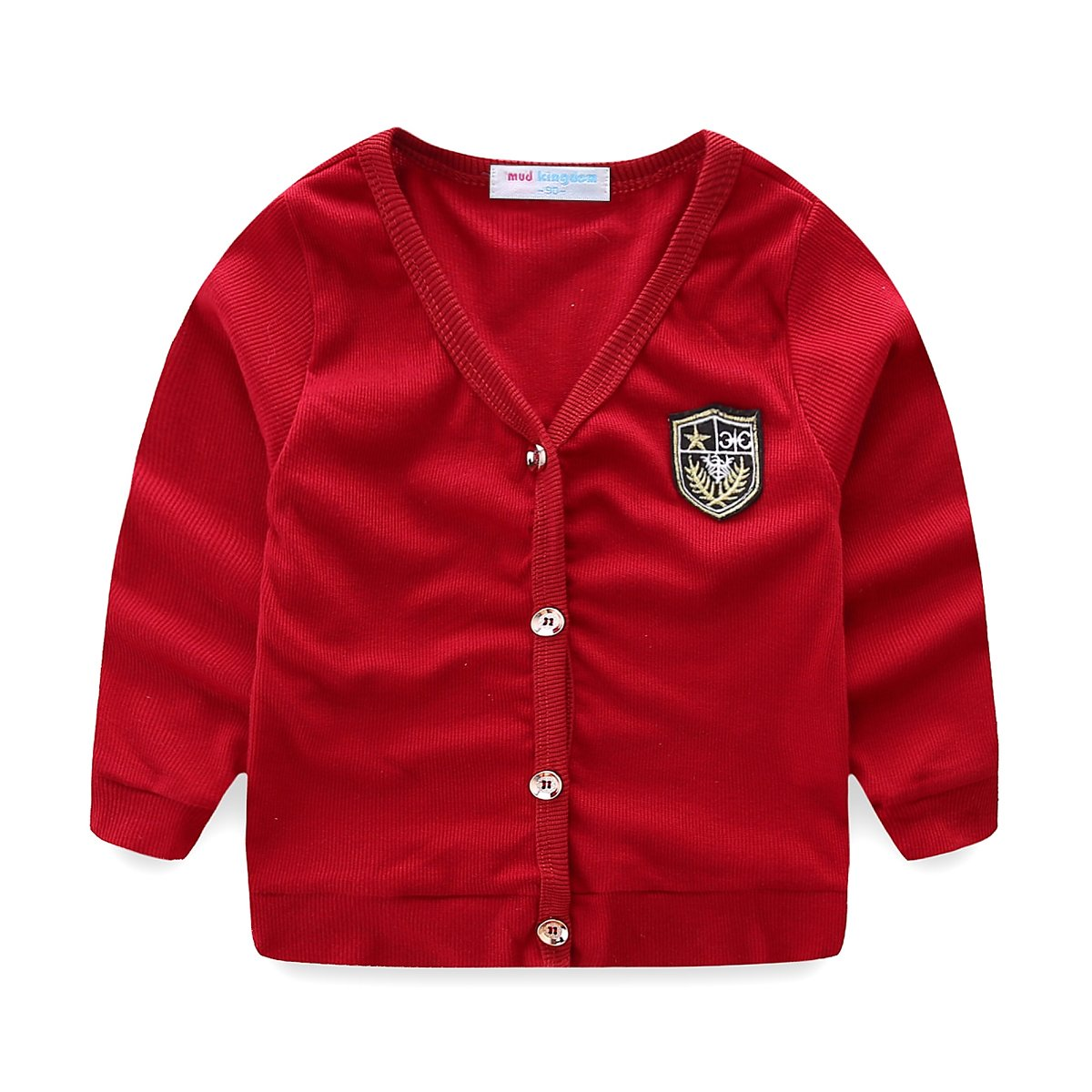 Mud Kingdom Little Boys Dress Coats Lightweight Plain Z-S0431