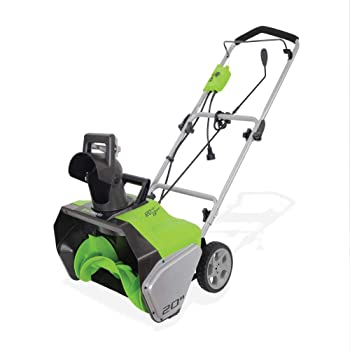 Greenworks 20-inch Corded Snow Thrower