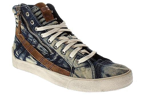 Diesel Deutschland - Zapatillas altas de Lona Hombre 46: Amazon.es: Zapatos y complementos