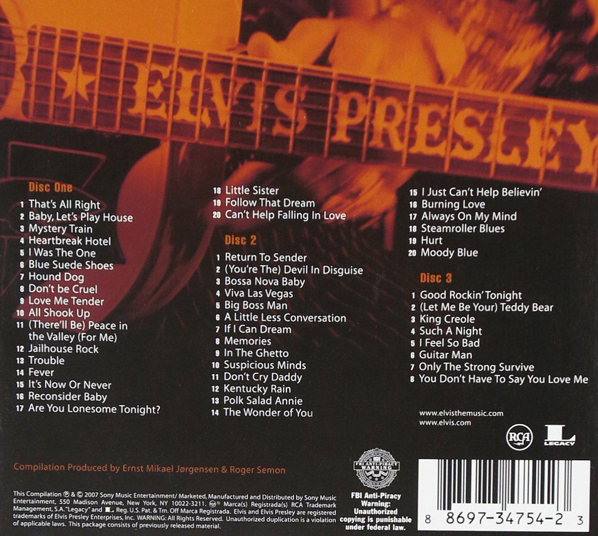 The Essential Elvis Presley 3 0