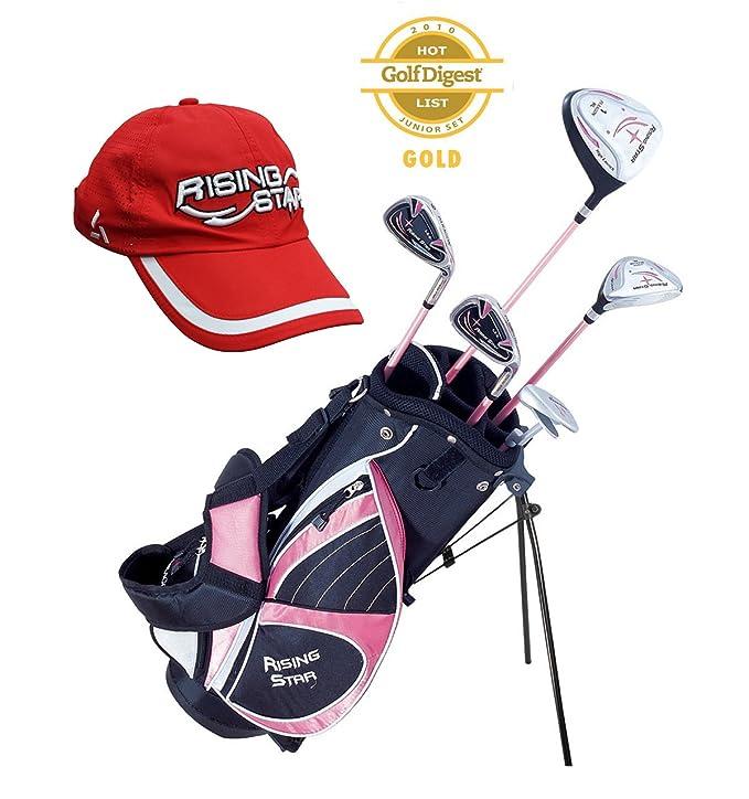 Amazon.com : Paragon Golf Girls Golf Club Set, Pink, Ages 5 ...