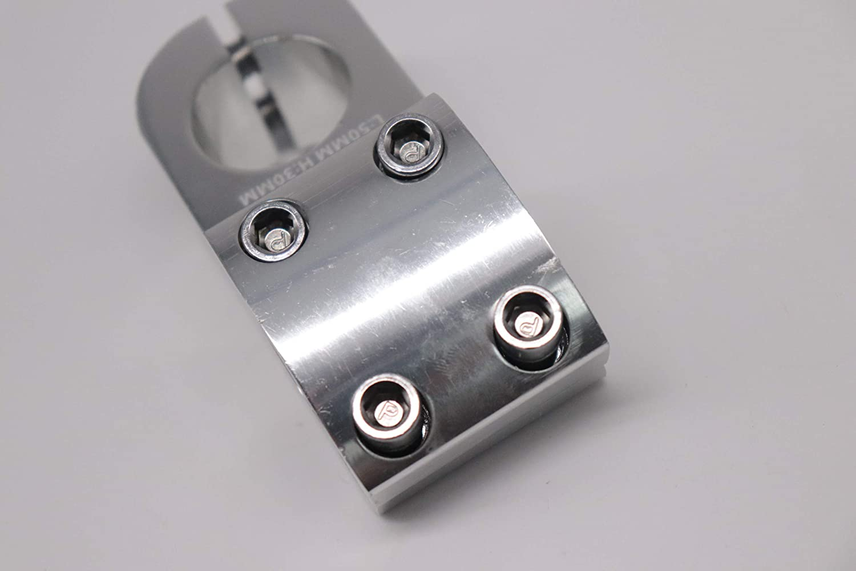 Fahrradlenkervorbau stem neu Alu BMX Vorbau 50 mm L/änge 1 1//8 22,2mm