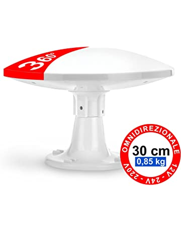 Antena Omnidireccional Terrestre para Exterior - 4G LTE DVB-T/T2 - 12/