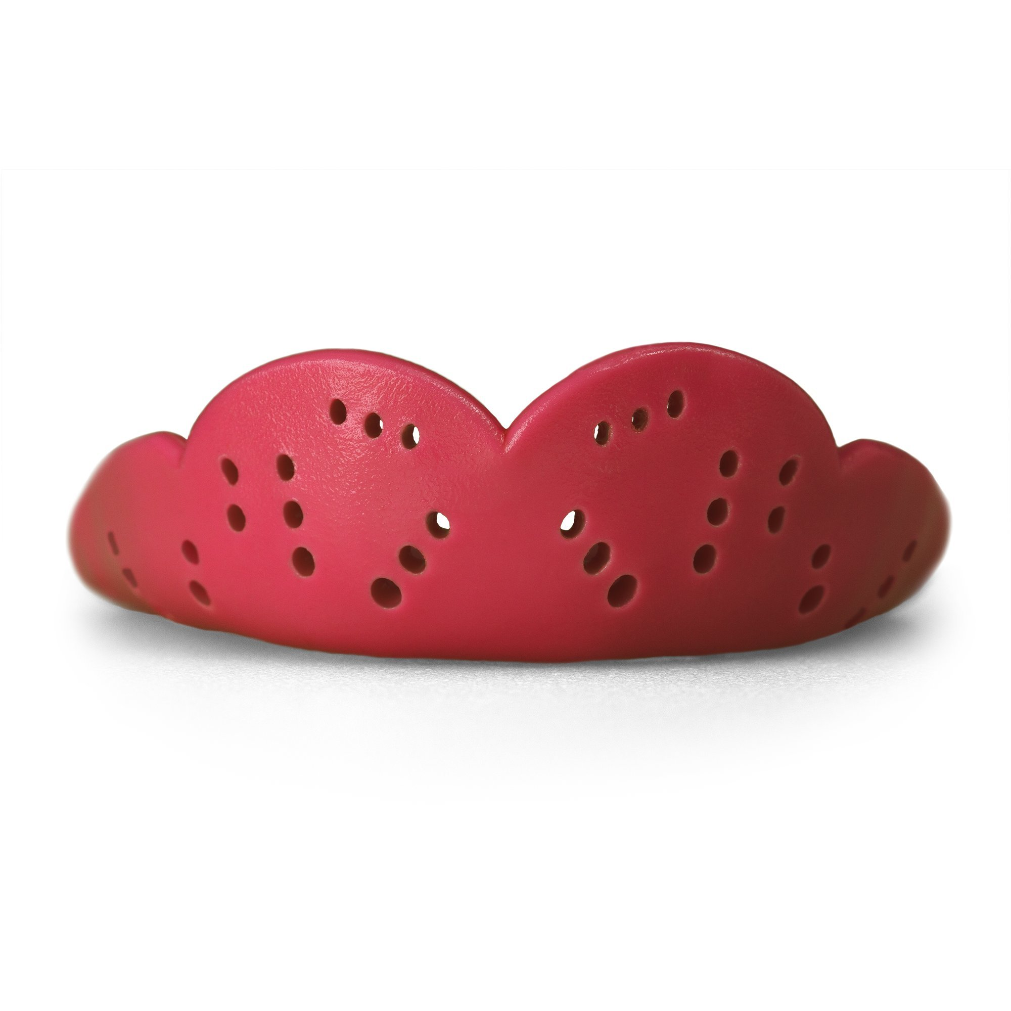 SISU Mouth Guards Max 2.4mm Custom Fit Sports Mouthguard for Youth/Adults, NextGen, Intense Red