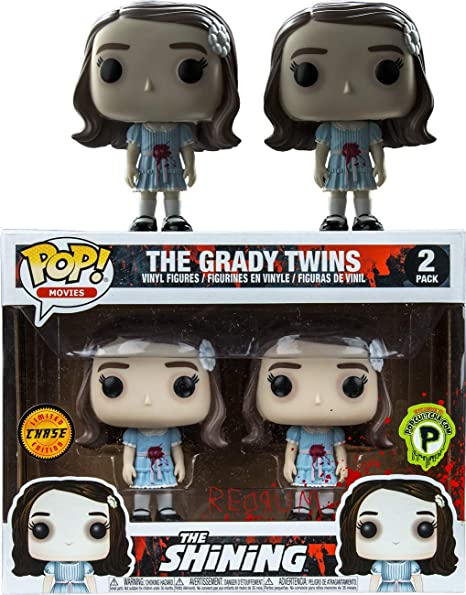 SnugBoy Funko The Shining / The Grady Twins Pop! Pack de 2 vinilos Chase (Popcultcha): Amazon.es: Hogar