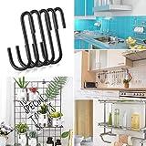 30PC Roontin S Hooks, Heavy Duty Hangers, Metal