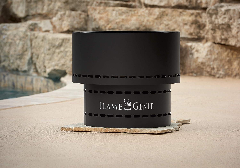 Flame Genie Inferno Tragbar Pellet Burning Fire Pit Amazon De Küche Haushalt