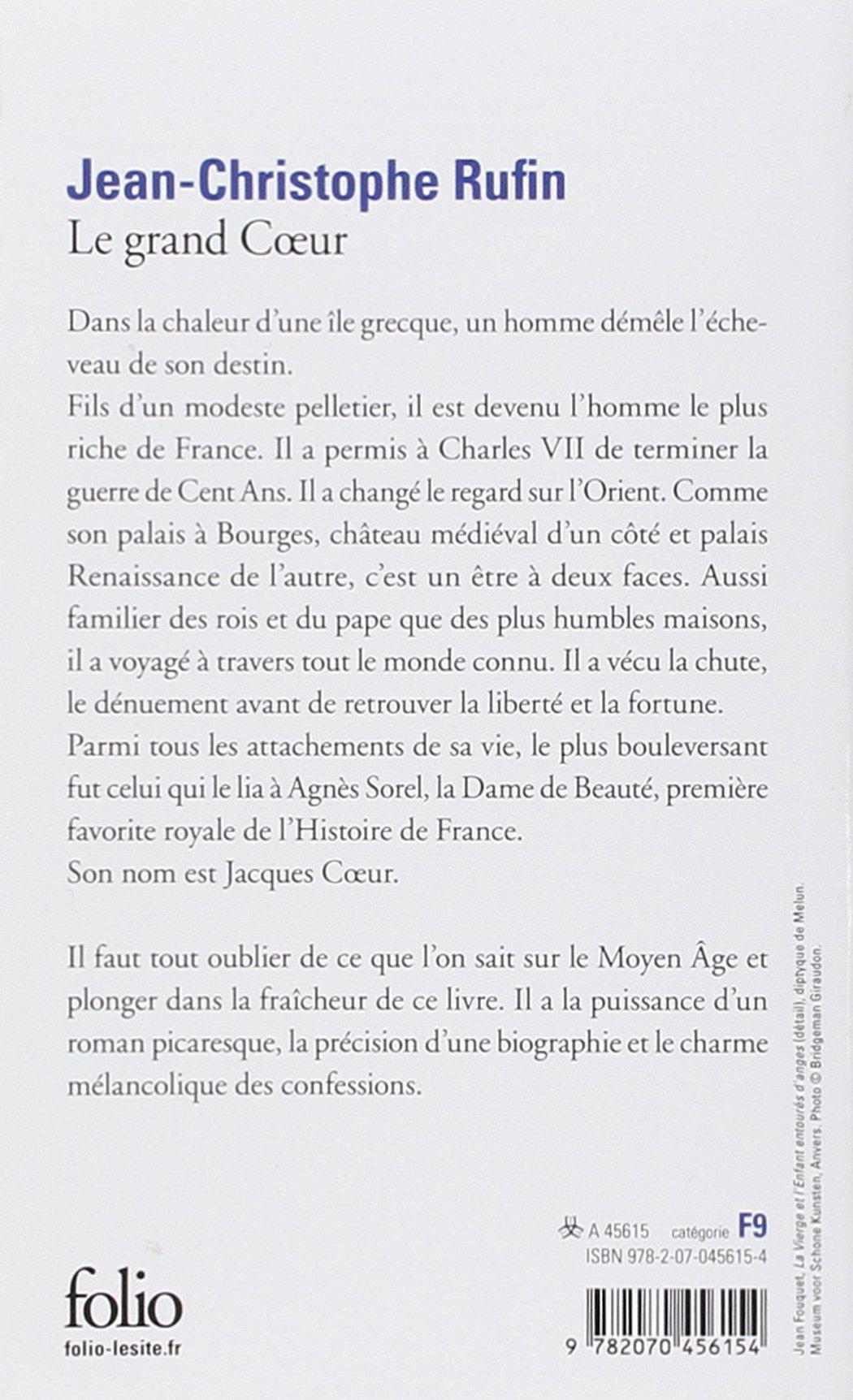 2012 Broché Le grand Coeur de Rufin.Jean-Christophe