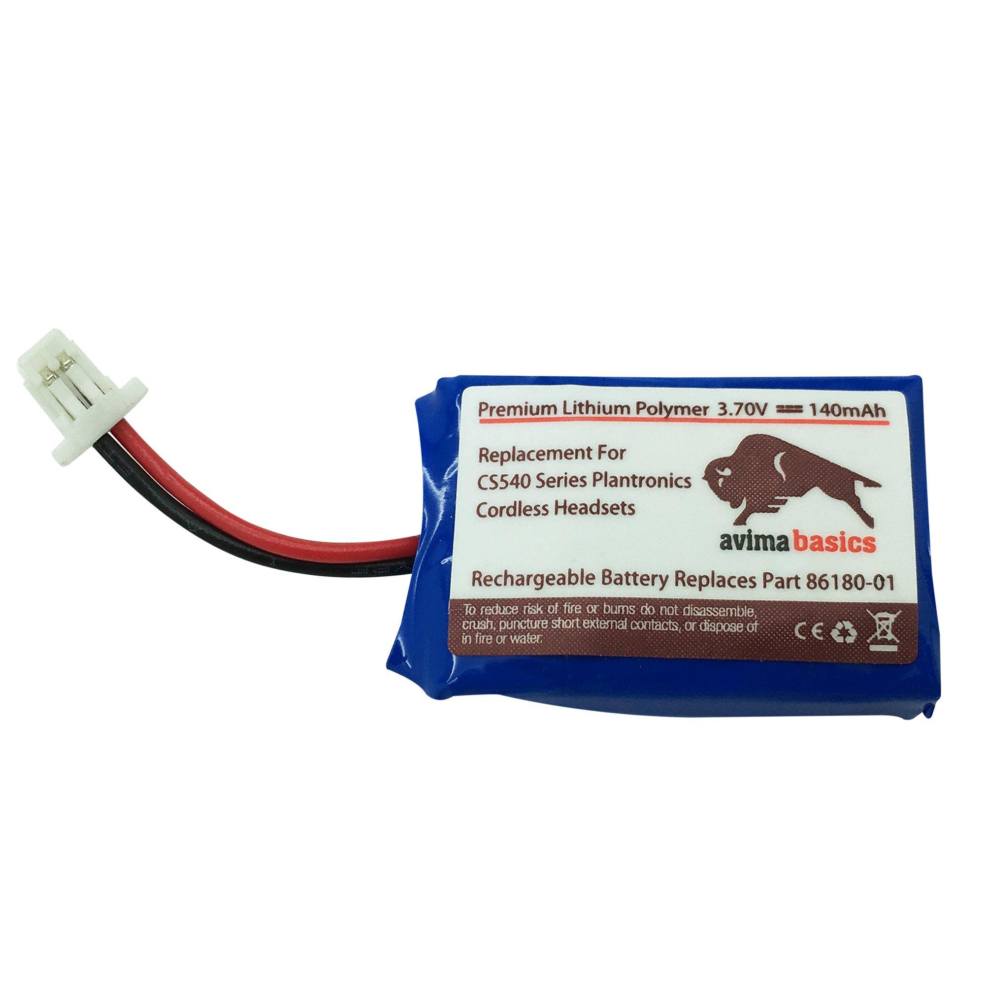 Bateria Plantronics Cs540, Cs540a Cs540-xd 86180-01