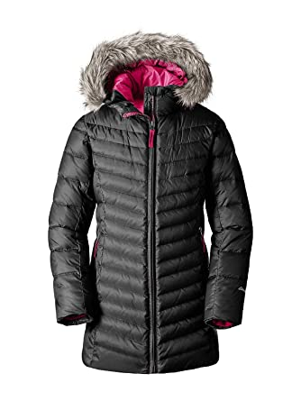 b147c2508 Amazon.com  Eddie Bauer Girls  Sun Valley Down Parka  Clothing