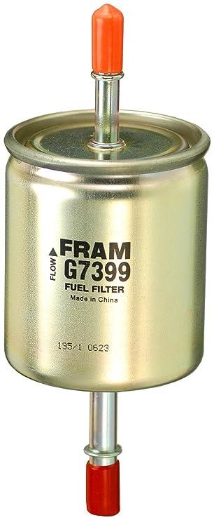 fram g7399 in line fuel filter GMC Fuel Filter Change