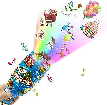 Amazon.com: Farolillo proyector de colas raras, juguetes ...