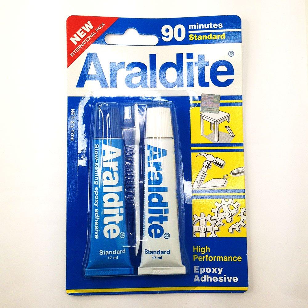 ARALDITE AB EPOXY ADHESIVE GLUE 90 MINUTES RAPID from Mychobos (Crystal-Wholesale)