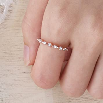 5201732b6 Image Unavailable. Image not available for. Color: Barogirl Wedding Ring  Engagement Ring for Women Women's ...