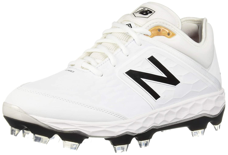 New Balance メンズ NB18-PL3000V4-Mens B07B6Z1ZWG 14 W US|ホワイト/ホワイト ホワイト/ホワイト 14 W US