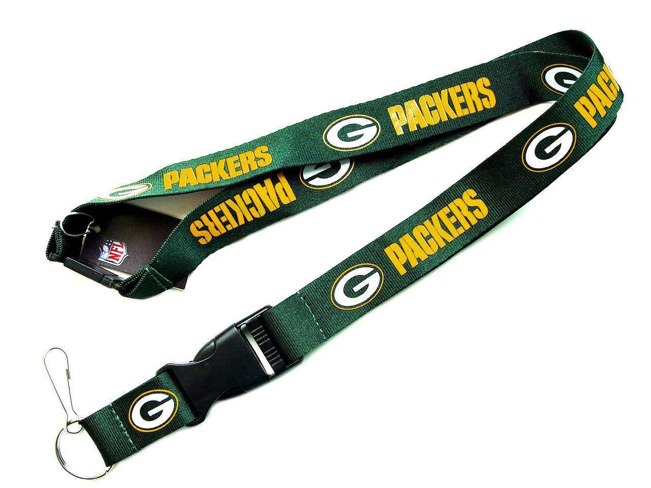 Amazon.com: Clip cordón llavero ID Ticket NFL Green Bay ...