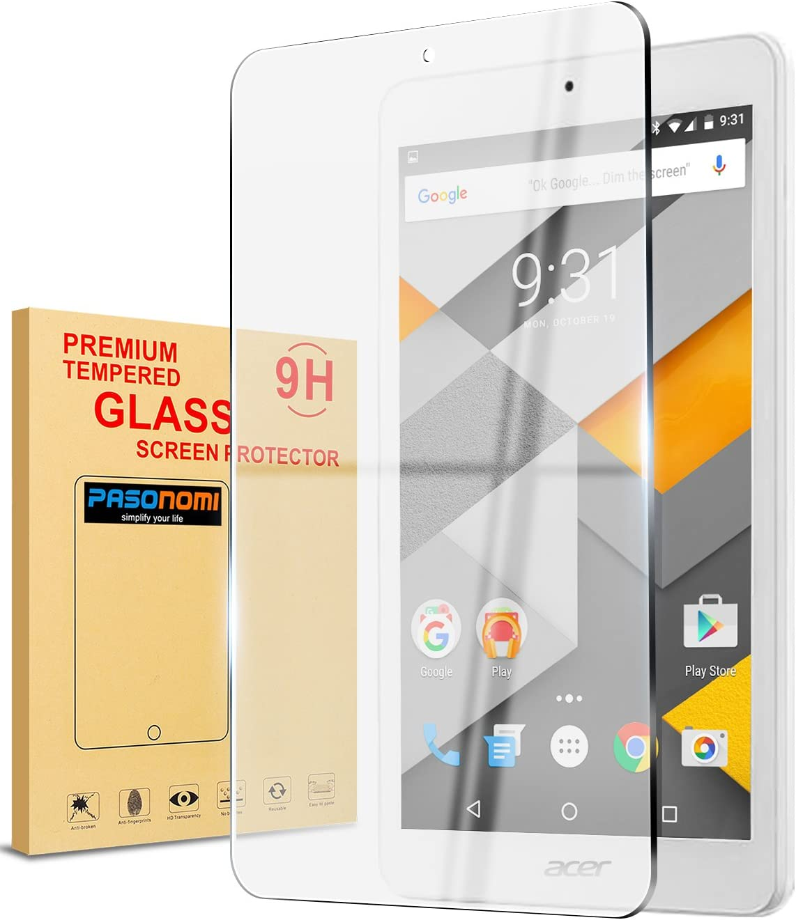 Tablet Tempered Glass Screen Protector Cover For Acer Iconia One 8 B1-860