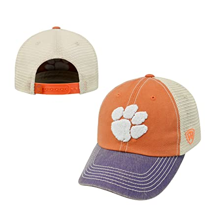 timeless design 90608 40c63 Amazon.com   Top of the World Clemson Tigers Official NCAA Adjustable Youth Offroad  Hat Cap 173443   Sports   Outdoors