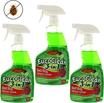 All Natural eucoclean 3-in-1 cama sistema de defensa de fallos ...