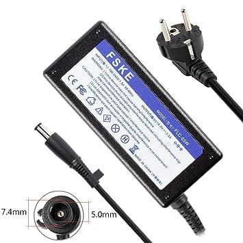 FSKE 65W 18.5V 3.5A Cargador Adaptador para HP PA-1650-02HC 463958