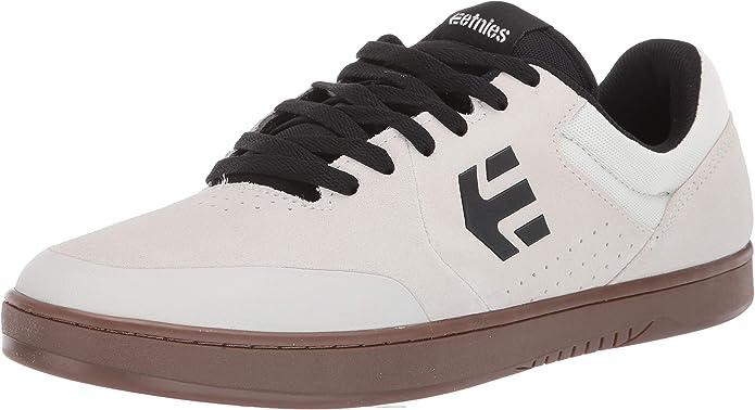 Etnies Marana Sneakers Skateboardschuhe Damen Herren Unisex Weiß Schwarz Kautschuk