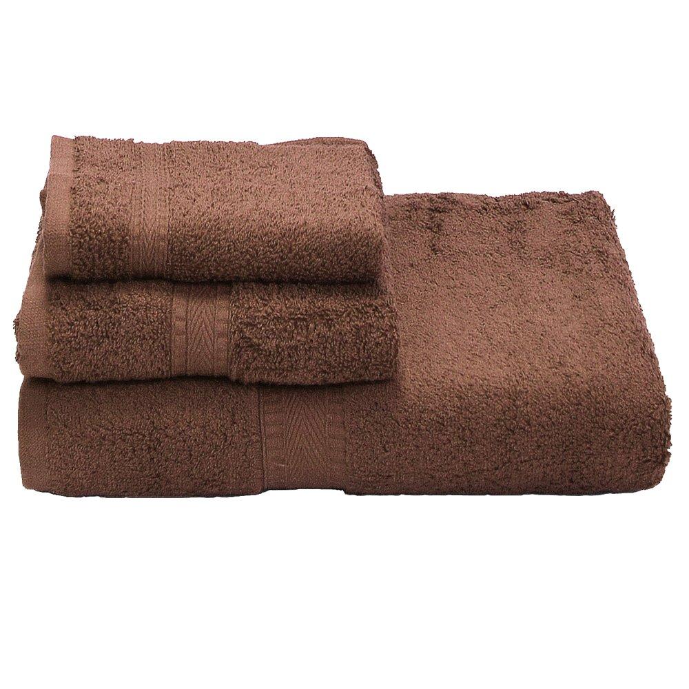 584605bd6937 Amazon.com: Ivy Union 100% Egyptian Cotton Premium Bath Towel Set (1 Bath - 1  Hand - 1 Wash, Taupe): Home & Kitchen