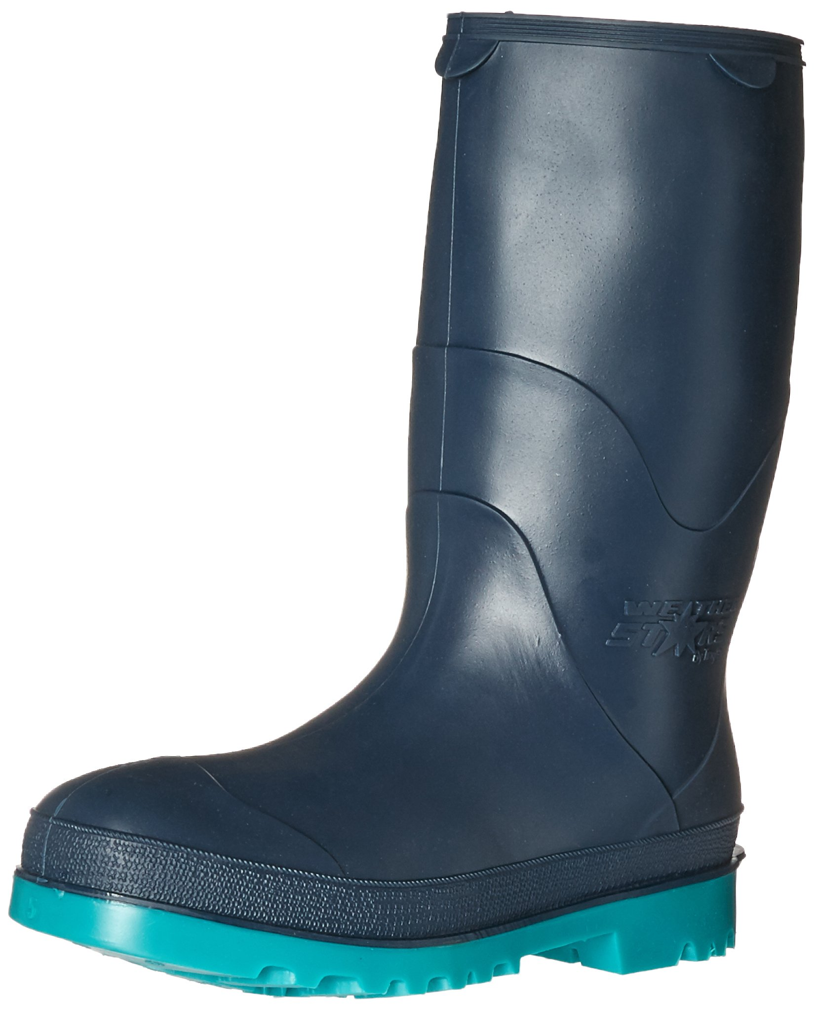 STORMTRACKS 11768.05 Youths' Boot, Size 05, Blue/Green