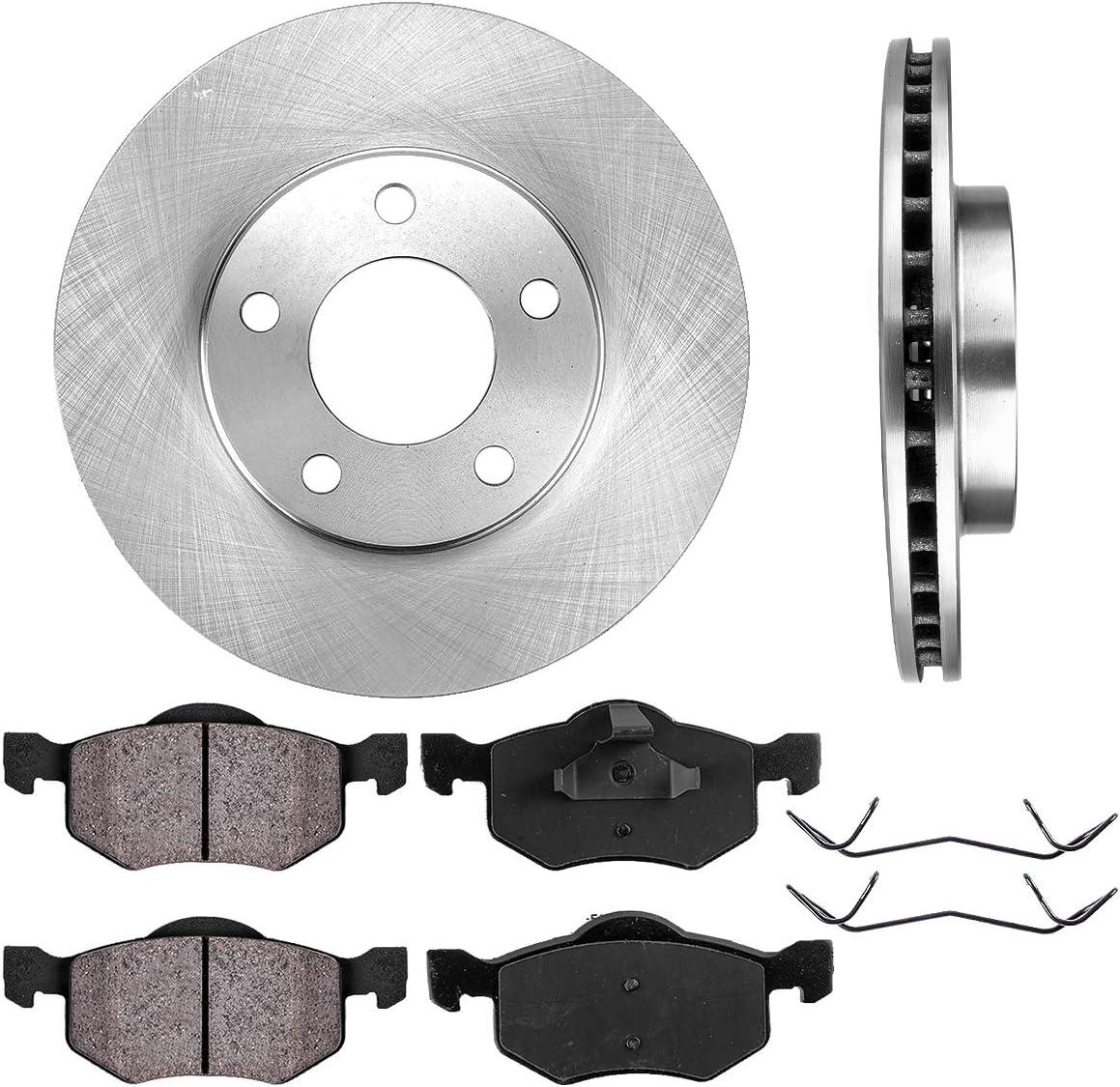 High-End 5lug Fits: Escape Mariner Tribute Front Rotors 2 Brake Rotors