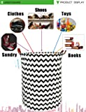 LANGYASHAN Storage Bin,Canvas Fabric