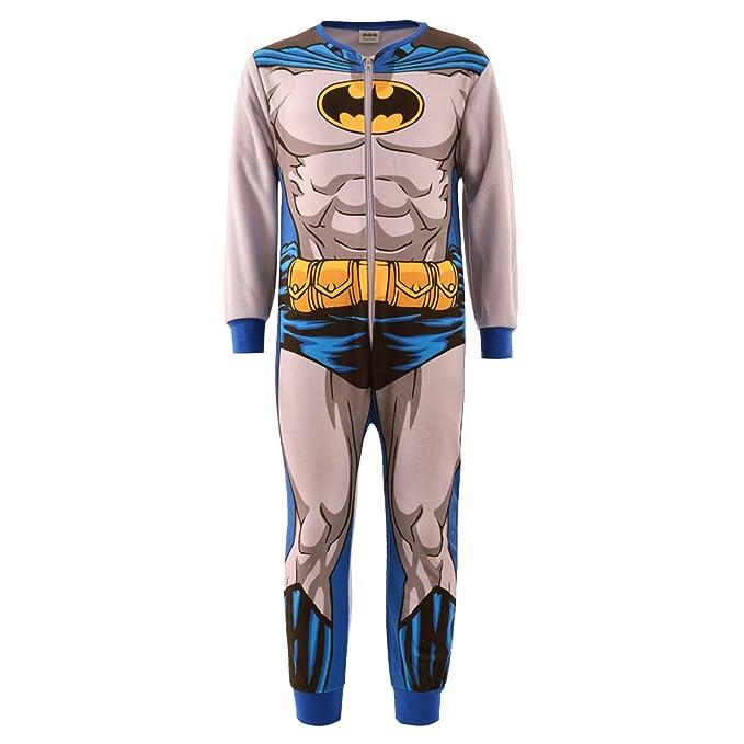 Niños niñas niños de Batman Spiderman TV carácter Onesie pijama ropa de dormir Batman Grey/