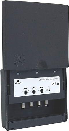 Triax 340665 MFA con amplificador de mástil y 1 entrada de ...